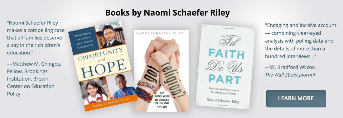 Books by Naomi Schaefer Riley